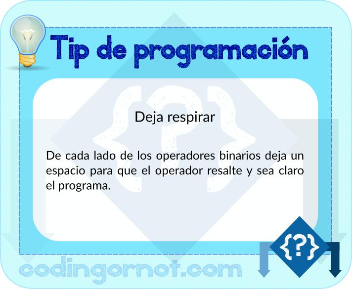 Tip de programación