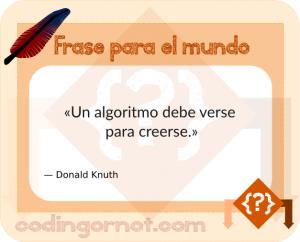 Frase de Donald Knuth