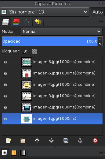 GIMP-capas