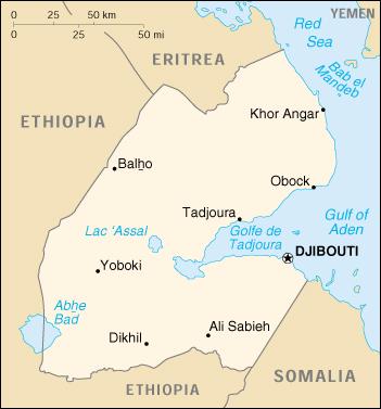 Djibouti cuenta con tan solo 38 ciudades.