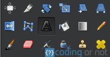 Herramienta de texto GIMP